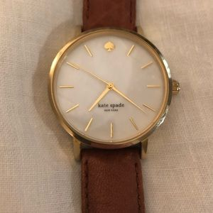 Kate Spade Mother of Pearl Watch